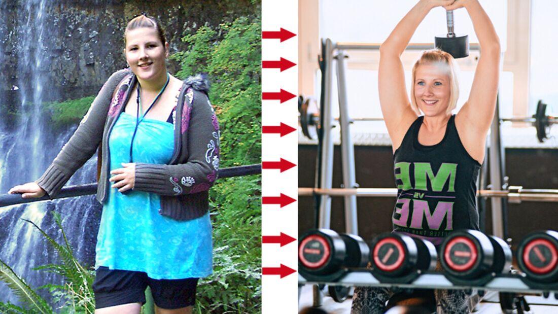 Jenny hat 41 Kilo abgenommen