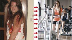 Juliane hat 18 Kilo abgenommen