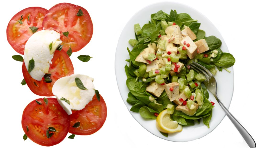 Käse und Fleisch versorgen den Körper mit viel Eisen