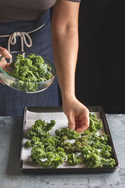 Kale-Chips: lecker und gesund