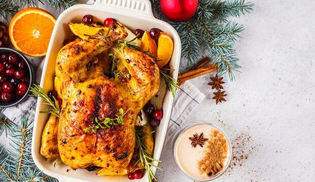 Kalorien sparen beim Weihnachtsessen