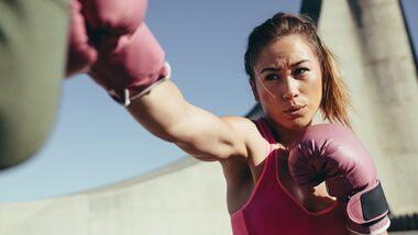 Kampfsportarten für Frauen