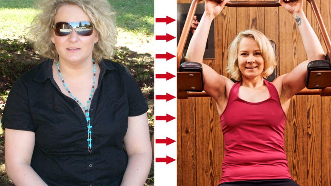 Karoline hat 60 Kilo abgenommen