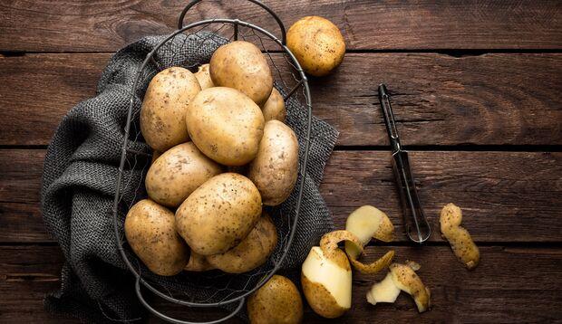Kartoffeln sollten dunkel und kühl gelagert werden