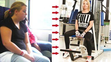 Katharina hat 30 Kilo abgenommen