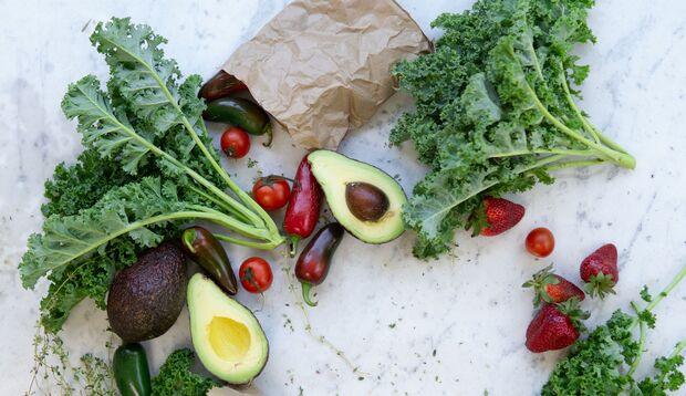 Kaufe Obst, Gemüse, aber auch Fleisch in Bio-Qualität