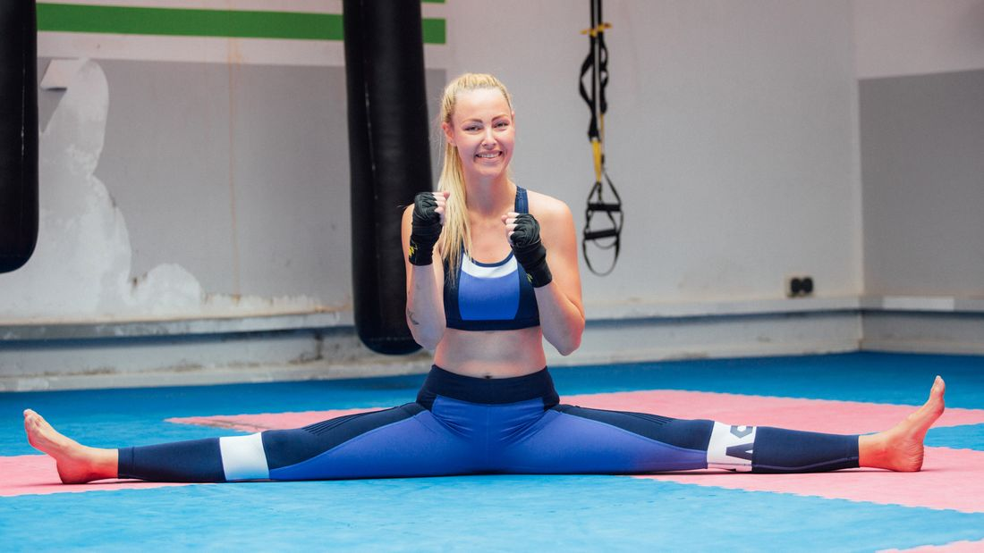 Kickboxen ist für Hanna der perfekte Ausgleich zum Job