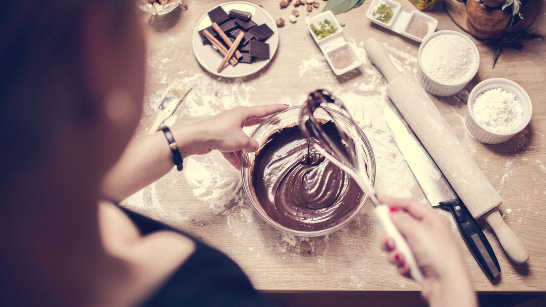 Kochen und backen mit Schokolade