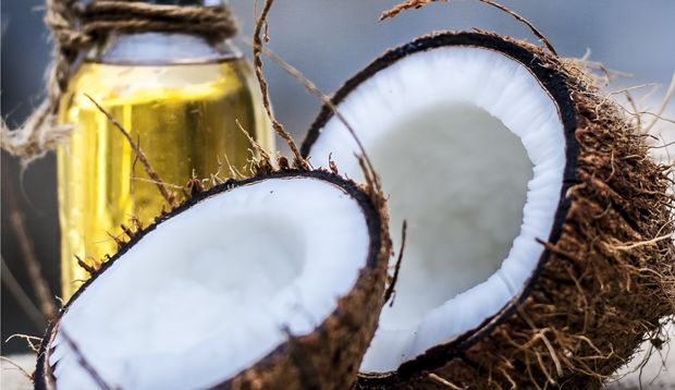 Kokoskur fürs Haarwachstum