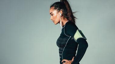 Kompressionskleidung verbessert die Blutzirkulation - vor allem für Langstreckenläufer.