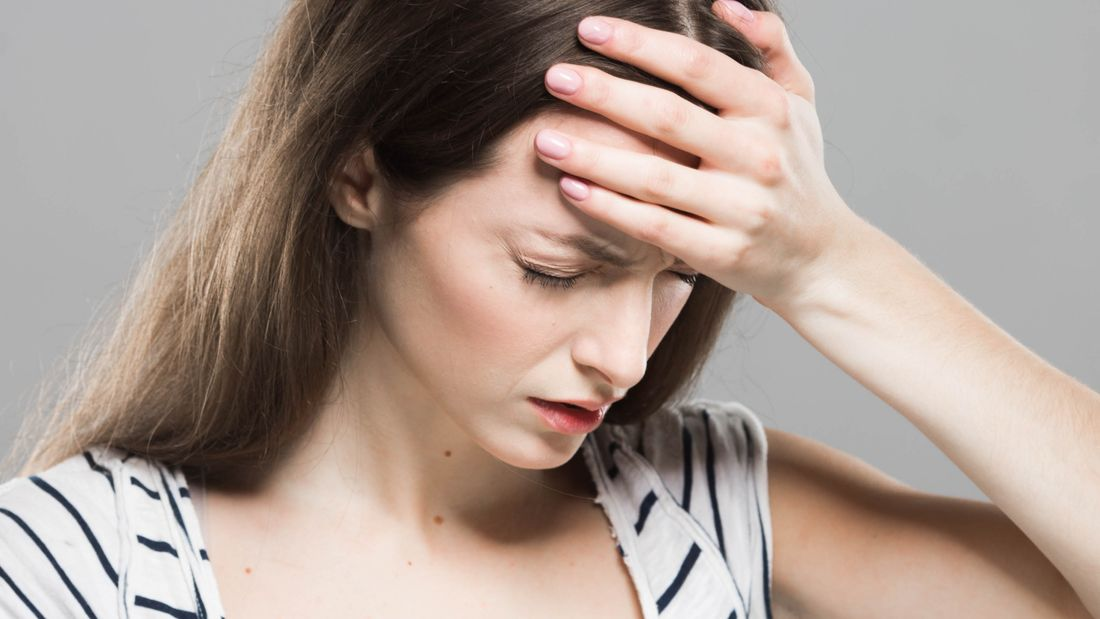 Kopfweh als Anzeichen für Eisenmangel