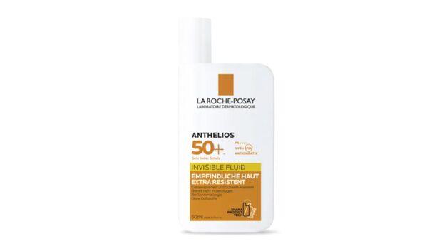 La Roche Posay ANTHELIOS INVISIBLE FLUID LSF 50+ schützt deine Haut vor Sonnenstrahlen