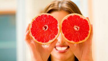 Langes Sättigungsgefühl dank Bitterstoffen in Grapefruits