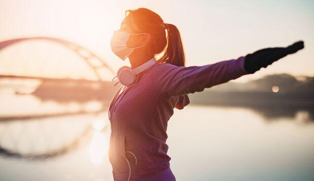 Langfristig kann das Joggen mit Maske deine Leistung steigern