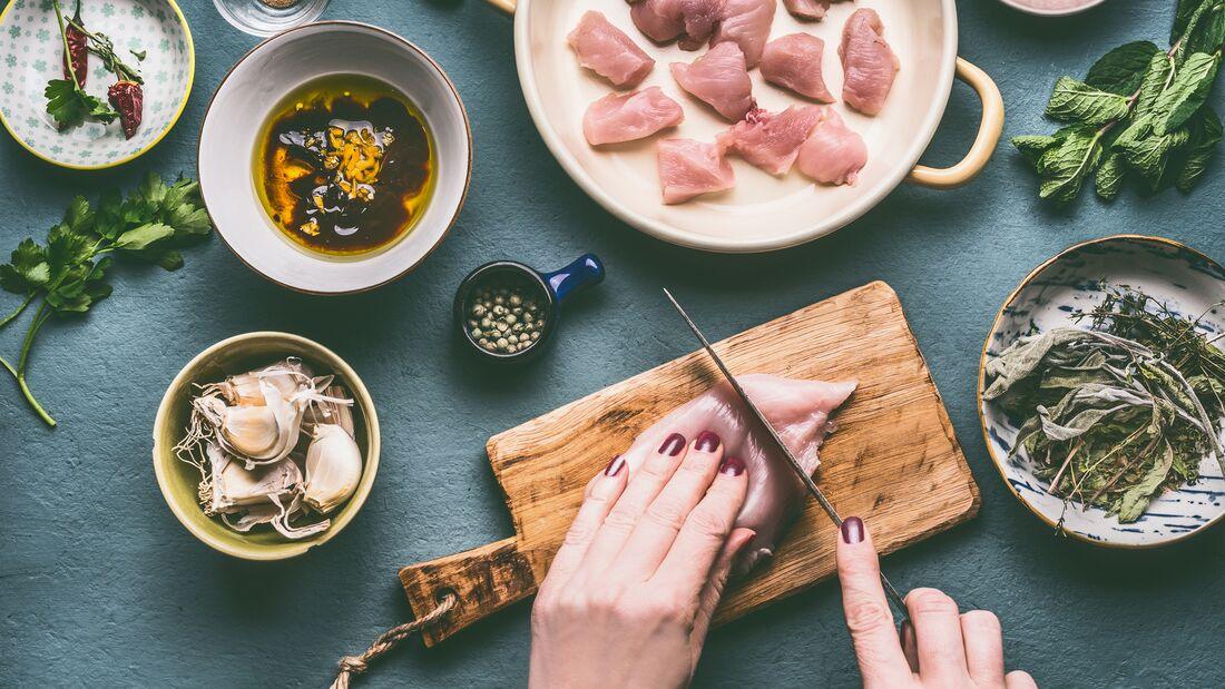 Lecker, mager, gesund: Hühnchen, Pute & Co.