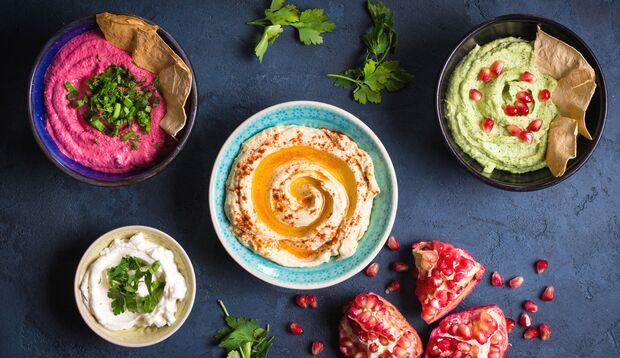 Leckere Hummus-Varianten