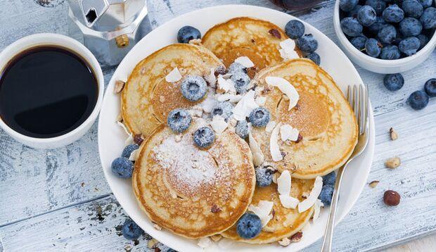 Leckere Quark-Pancakes