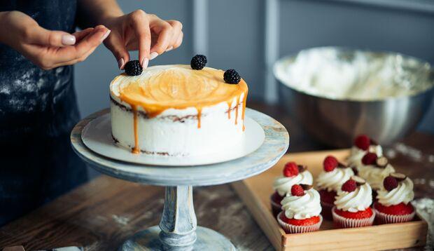 Leckerer Kuchen geht auch mit Eiweißpulver