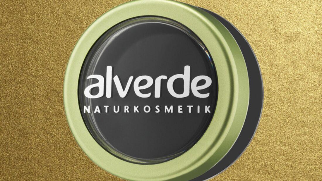 Lidstrich mit Eyeliner: Alverde Cream Eyeliner
