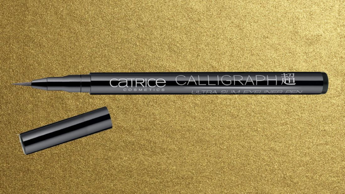Lidstrich mit Eyeliner: Catrice Calligraph Ultra Slim Eyeliner Pen