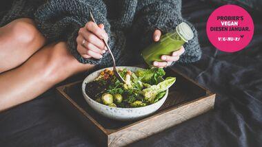 Mach mit beim Veganuary 2021 und ernähre dich 31 Tage lang vegan