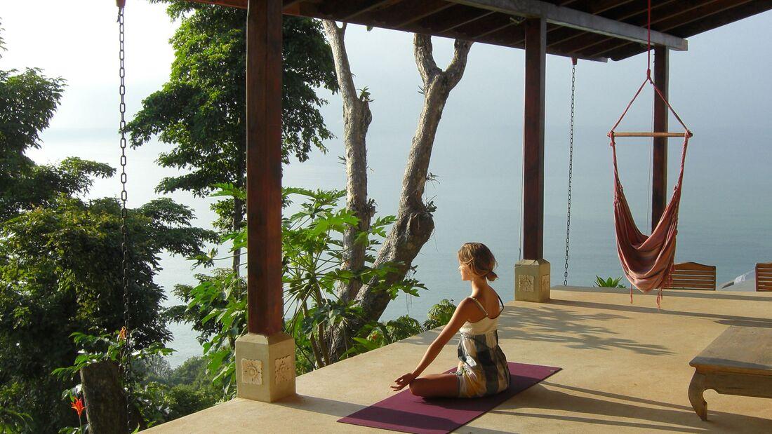 Machen Sie einen Yoga Urlaub