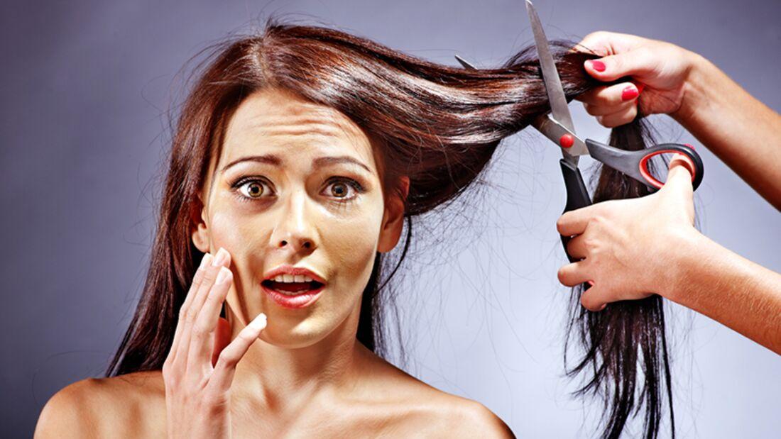 Männer verstehen: Heulen nach dem Friseurbesuch