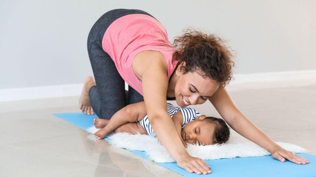 Mamafit-Trainingsplan Postnatal