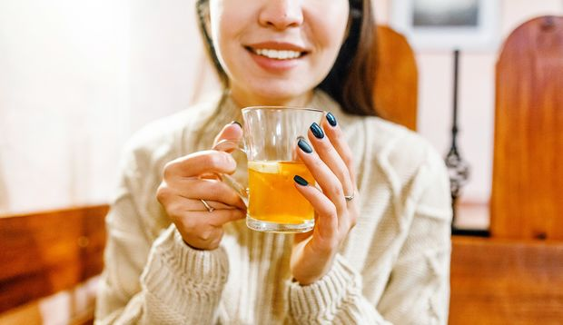 Manuka-Honig im Tee
