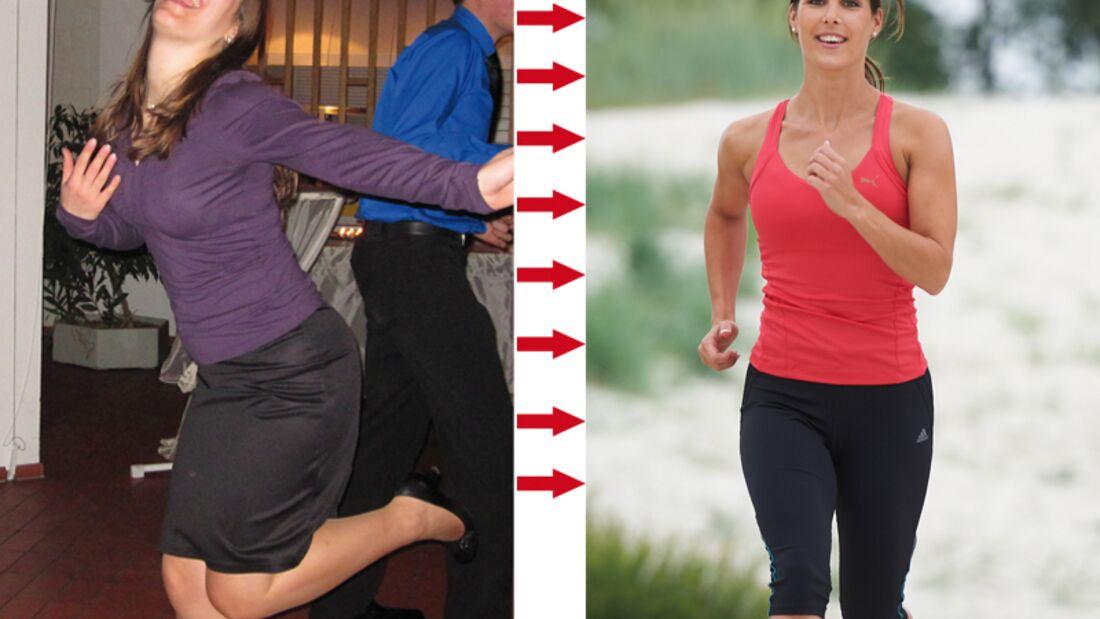 Marina nahm 11 Kilogramm ab