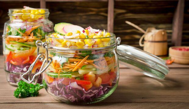 Meal Prep-Salat – so geht's