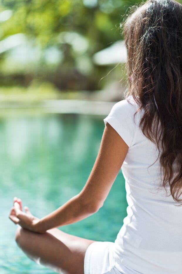 Meditieren hilft gegen Stress