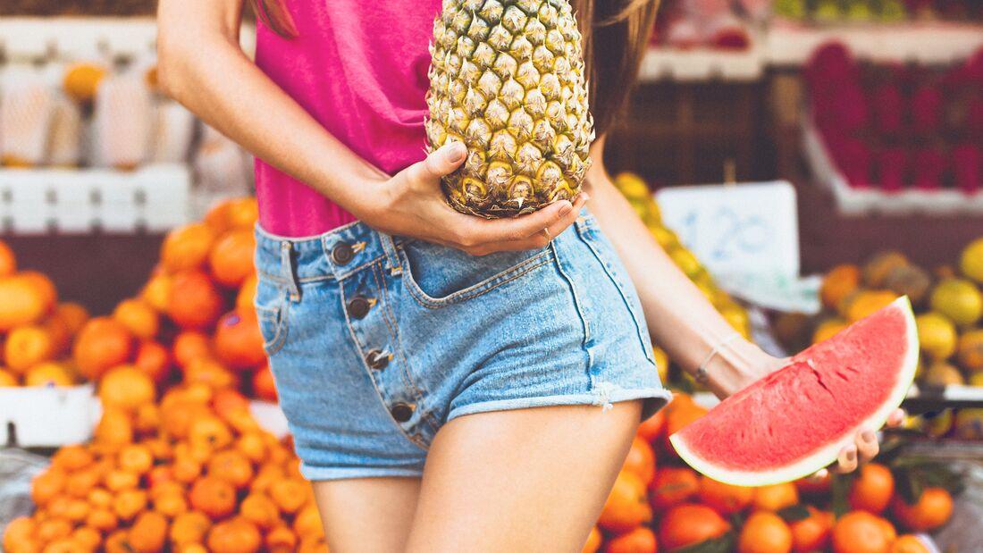 Melone und Ananas sorgen im Sommer für Abkühlung