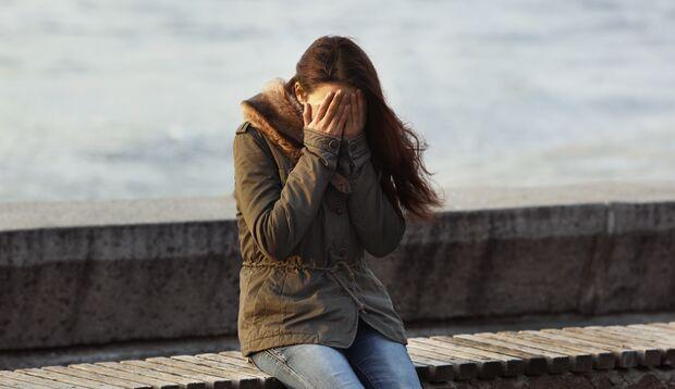 Menschen, die an einer depressiven Störung leiden, fällt es oft schwer,  über ihren  Zustand zu sprechen.