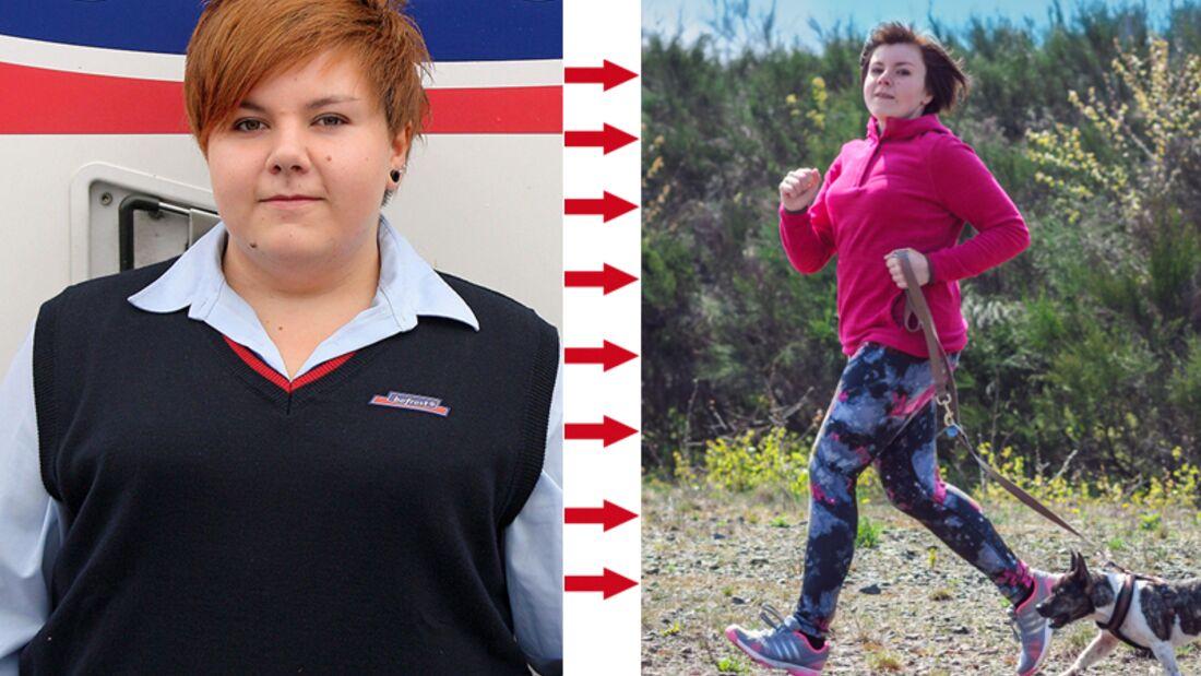Michelle hat 48 Kilo abgenommen