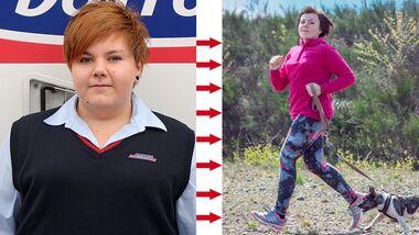 Michelle hat fast 50 Kilo abgenommen