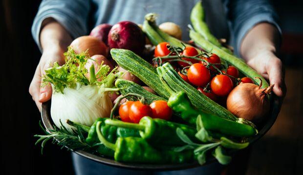Mit Gemüse kann man sich prima satt essen