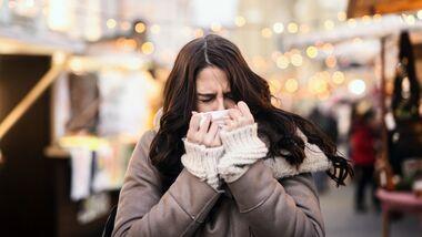 Mit dem Herbst kommt auch das Erkältungswetter