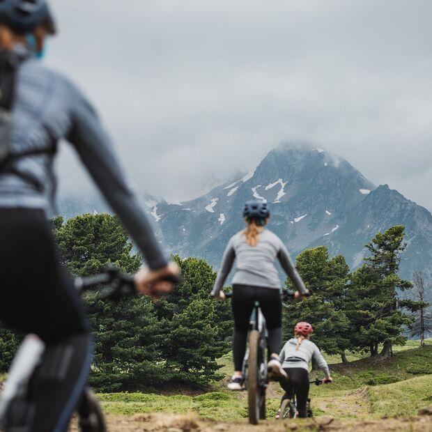 Mountainbike im Bleniotal