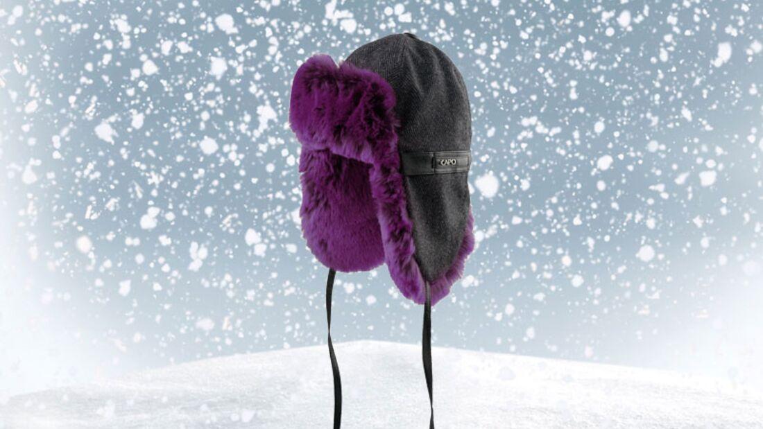 Mütze von Capo, zirka 55 Euro