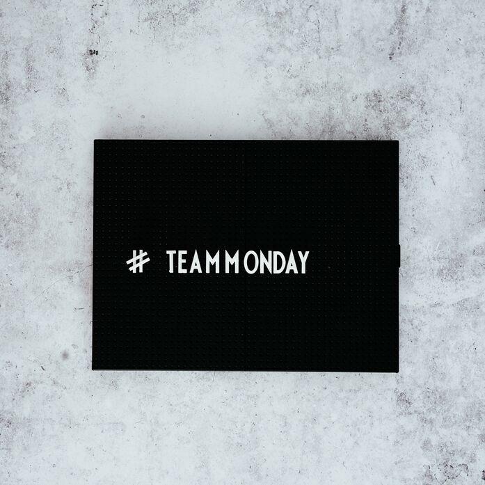 Na, gehörst du auch zum #teammonday?