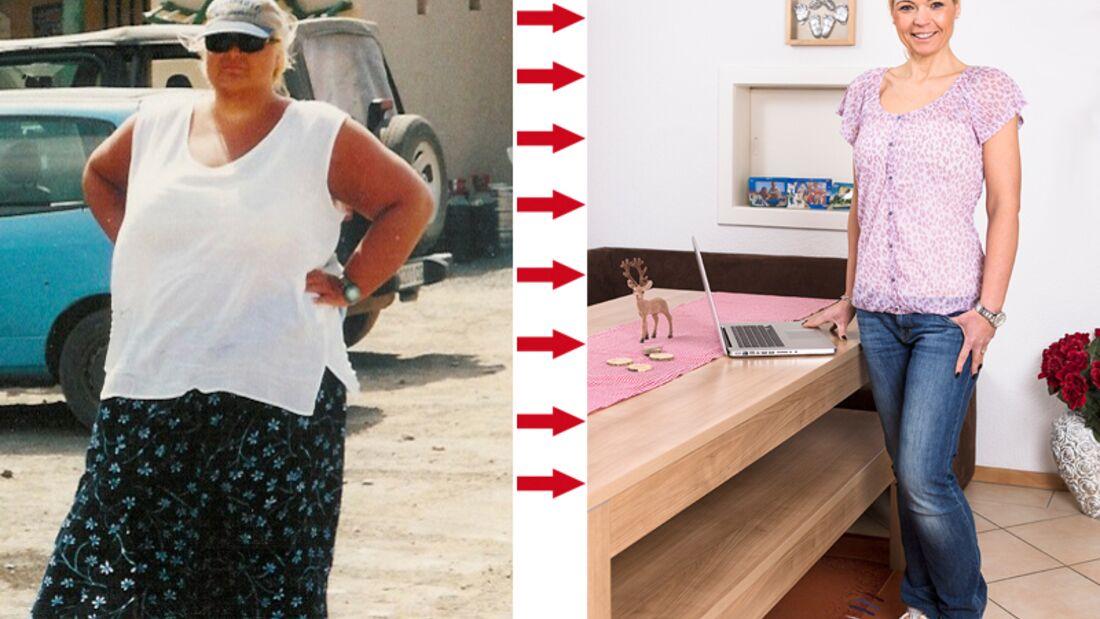 Nadja hat 77 Kilo in 3 Jahren abgenommen
