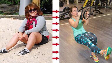Nina hat 40 Kilo abgenommen