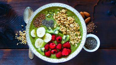 Nüsse, Leinsamen & Co. sind Protein-Bömbchen