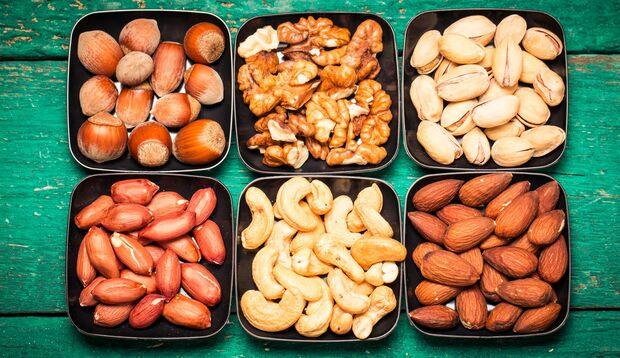Nüsse sind gesund