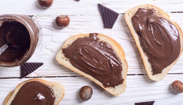 Nutella-Toast macht nicht satt