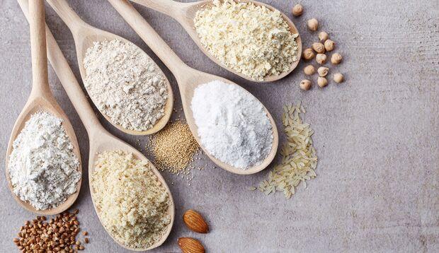 Nutzen Sie Nussmehl anstatt Weizenmehl
