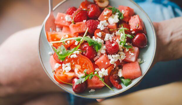 Obst im Salat? Unbedingt!