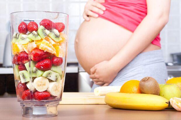 Obst können Sie in der Schwangerschaft reichlich genießen