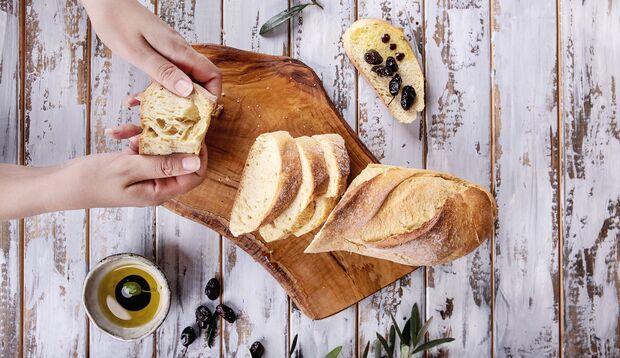 Oliven und Olivenöl ist super gesund